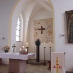 Altarraum in der Katholischen Kirche, Zappendorf