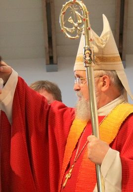 Firmung durch Bischof