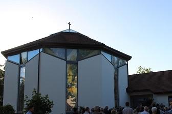 Katholische Kirche Dölau Foto: Knackstedt