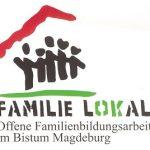 das Logo der offenen Familenarbeit Familie lokal im Bistum Magdeburg
