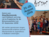 Singen für Jung und Alt  - Wochenende in Roßbach