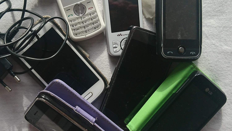 ausgediente Mobiltelefone sind Gold wert