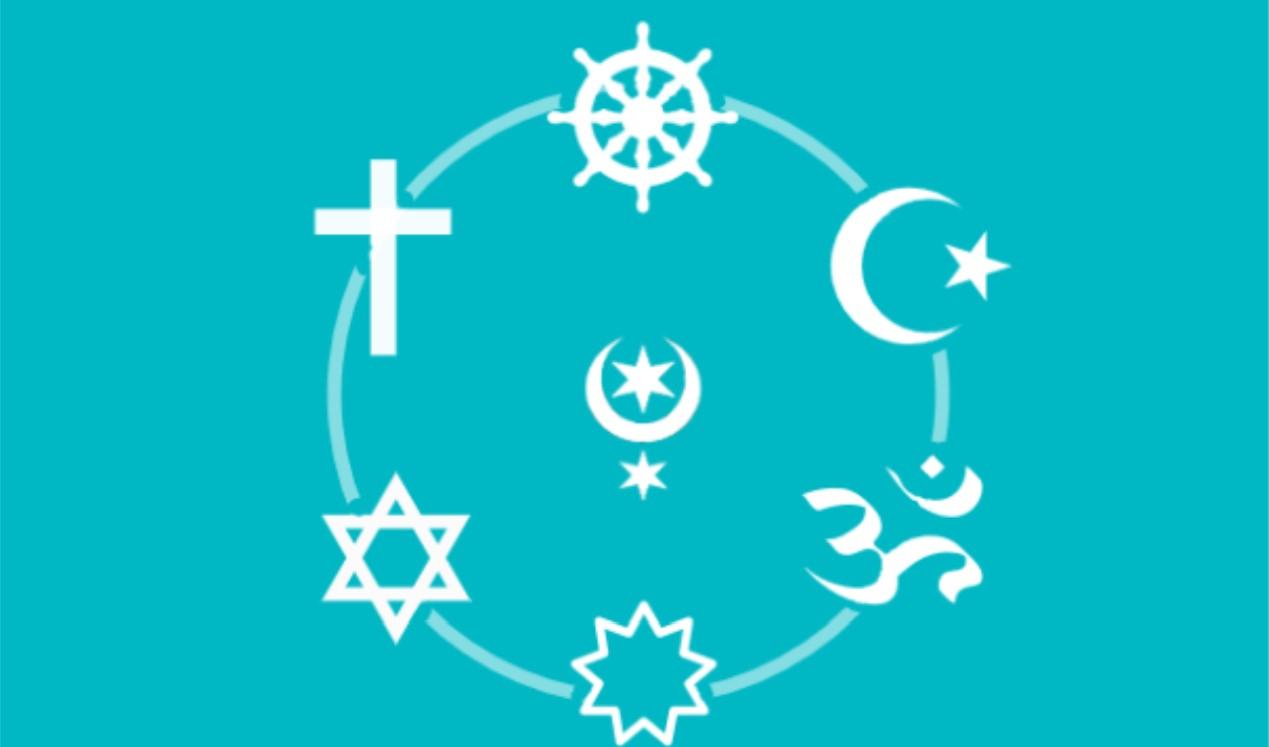 Logo Rat der Religionen